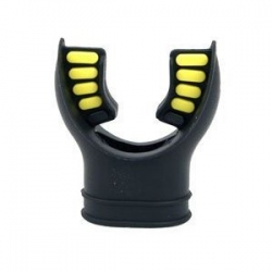 Mouthpiece Black/yellow Comfort Cushion